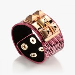 Adjustable_Snap_Pyramid_Studded_Punk_Leather_Bracelet_Fuchsia-1__40209_zoom