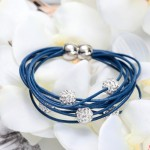 Blue-Leather-Shamballa-Bracelet